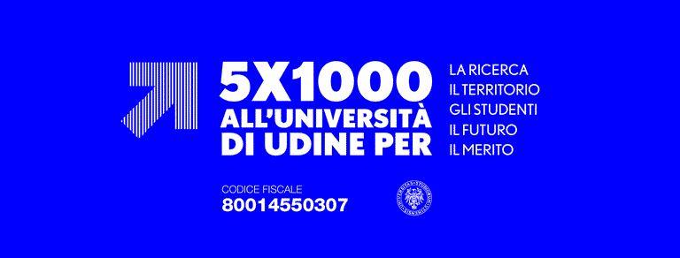 Copertina 5x1000 Uniud