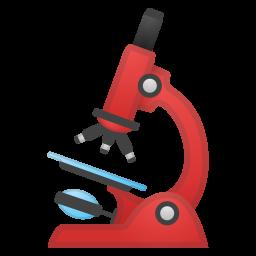 Icona microscopio per progetti di ricerca