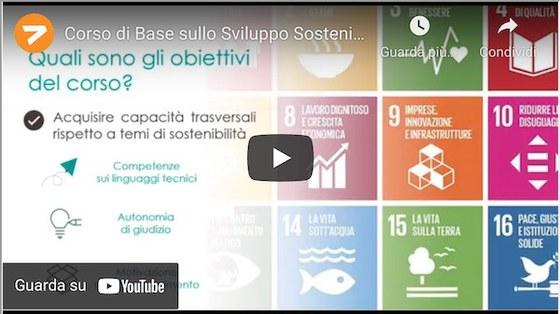 Corso sullo sviluppo sostenibile