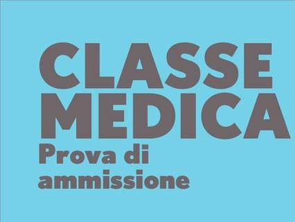 classe medica: prova di ammissione
