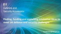 edit Defence and Security Accelerator (DASA)